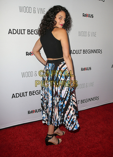 15 April 2015 - Hollywood, California - Jenny Slate. &quot;Adult Beginners&quot; Los Angeles Premiere held at Arclight Cinemas. <br /> CAP/ADM/FS<br /> &copy;FS/ADM/Capital Pictures