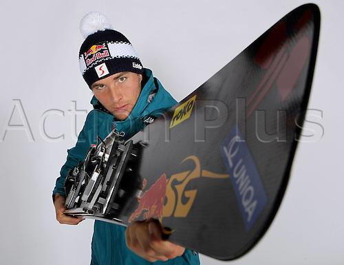 16.10.2010  Winter sports OSV Einkleidung Innsbruck Austria. Snowboarding OSV Austrian Ski Federation. Einkleidung men Picture shows Benjamin Karl AUT
