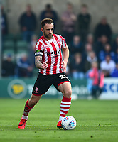 Lincoln City's Neal Eardley<br /> <br /> Photographer Andrew Vaughan/CameraSport<br /> <br /> The EFL Sky Bet League Two - Lincoln City v Macclesfield Town - Saturday 30th March 2019 - Sincil Bank - Lincoln<br /> <br /> World Copyright © 2019 CameraSport. All rights reserved. 43 Linden Ave. Countesthorpe. Leicester. England. LE8 5PG - Tel: +44 (0) 116 277 4147 - admin@camerasport.com - www.camerasport.com