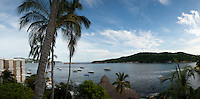 View from Boca Chica. Acapulco, Guerrero, Mexico