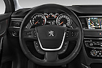 Car pictures of steering wheel view of a 2015 Peugeot 508 GT 4 Door Sedan 2WD Steering Wheel
