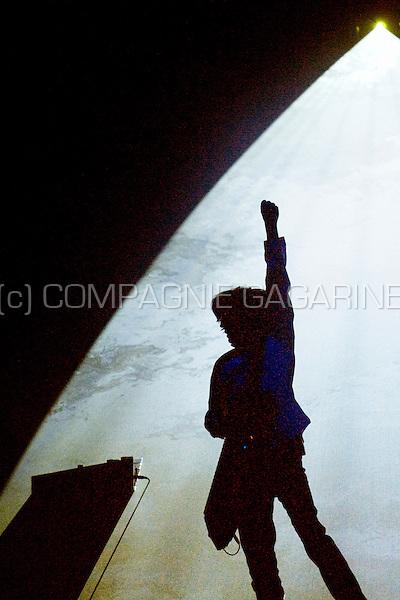 Jean Michel Jarre's concert in Forest National, Brussels, part of his In Doors World tour (Belgium, 26/05/2009)