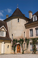 The main building with its tower Chateau Bouscaut Cru Classe Cadaujac Graves Pessac Leognan Bordeaux Gironde Aquitaine France