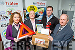 Launching the NEW LOW RATE Motor Loan from Tralee Credit Union with a free Breakdown Emergency Pack were  l-r Karen Delaney, Loans Officer, Stephen Corner  (Loans Officer, Jason Quirke, Asst. Manager Top Parts, and  Mike Lynch, Loans Officer