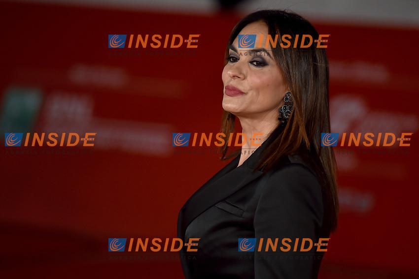 Maria Grazia Cucinotta <br /> Roma 17/10/2019 Auditorium Parco della Musica <br /> Motherless Brooklin Red Carpet <br /> Roma Cinema Fest <br /> Festa del Cinema di Roma 2019 <br /> Photo Andrea Staccioli / Insidefoto