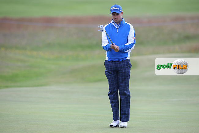 Daniel Brooks (ENG) during Round Three of the 2015 Aberdeen Asset Management Scottish Open, played at Gullane Golf Club, Gullane, East Lothian, Scotland. /11/07/2015/. Picture: Golffile | David Lloyd<br /> <br /> All photos usage must carry mandatory copyright credit (&copy; Golffile | David Lloyd)