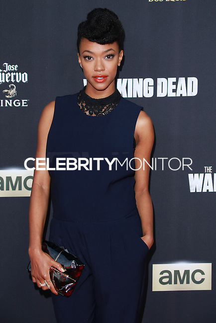 UNIVERSAL CITY, CA, USA - OCTOBER 02: Sonequa Martin-Green arrives at the Los Angeles Premiere Of AMC's 'The Walking Dead' Season 5 held at AMC Universal City Walk on October 2, 2014 in Universal City, California, United States. (Photo by David Acosta/Celebrity Monitor)
