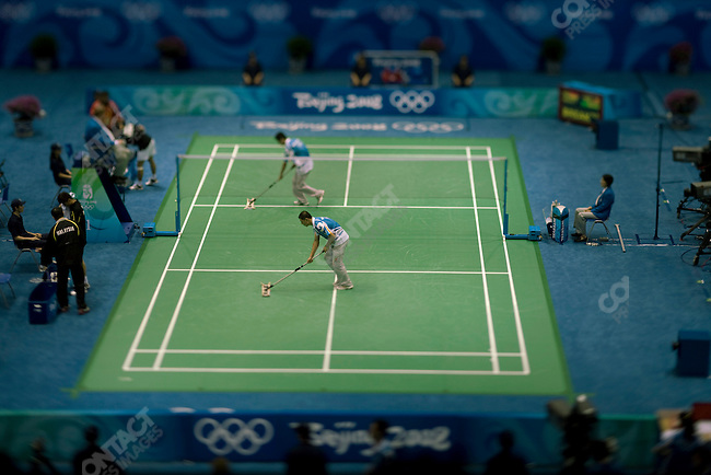 Badminton, Summer Olympics, Beijing, China, August 11, 2008