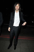 Bobby Gillespie at the Music Industry Trusts Awards 2018, Grosvenor House Hotel, Park Lane, London, England, UK, on Monday 05 November 2018.<br /> CAP/CAN<br /> &copy;CAN/Capital Pictures