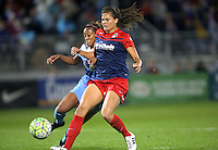 Boyds, MD - Friday Sept. 30, 2016: Kate Stengel, Casey Short during a National Women's Soccer League (NWSL) semi-finals match between the Washington Spirit and the Chicago Red Stars at Maureen Hendricks Field, Maryland SoccerPlex. The Washington Spirit won 2-1 in overtime.