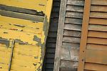 Super's Junkin Company. Old shutters design.