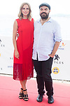 Actress Aura Garrido and director Xavier Gens during photocall of 'La Piel Fria' at Sitges Film Festival in Barcelona, Spain October 11, 2017. (ALTERPHOTOS/Borja B.Hojas)