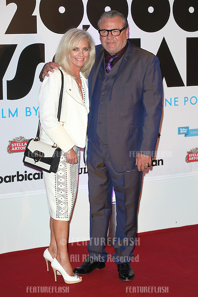 Elaine and Ray Winstone attending the '20,000 Days on Earth' Gala preview screening at Barbican Centre, London. 17/09/2014 Picture by: Alexandra Glen / Featureflash