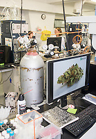 Marijuana testing laboratory equipment at Cannlabs Genifer Murray (cq) in her lab in Denver, Colorado, Monday, July 21, 2014. <br /> <br /> Photo by Matt Nager