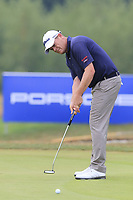 David Drysdale (SCO) putts on the 12th green during Saturday's Round 3 of the Porsche European Open 2018 held at Green Eagle Golf Courses, Hamburg Germany. 28th July 2018.<br /> Picture: Eoin Clarke | Golffile<br /> <br /> <br /> All photos usage must carry mandatory copyright credit (&copy; Golffile | Eoin Clarke)