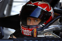 Apr 20, 2006; Phoenix, AZ, USA; Nascar Nextel Cup racer Carl Edwards driver of the (99) Office Depot Ford Fusion during qualifying for the Nextel Cup Subway Fresh 500 at Phoenix International Raceway. Mandatory Credit: Mark J. Rebilas