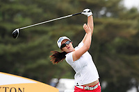 Sei Young Kim (South Korea) tees off on the 4th hole during the final round of the ShopRite LPGA Classic presented by Acer, Seaview Bay Club, Galloway, New Jersey, USA. 6/10/18.<br /> Picture: Golffile   Brian Spurlock<br /> <br /> <br /> All photo usage must carry mandatory copyright credit (&copy; Golffile   Brian Spurlock)