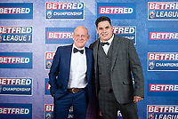 Picture by Allan McKenzie/SWpix.com - 25/09/2018 - Rugby League - Betfred Championship & League 1 Awards Dinner 2018 - The Principal Manchester- Manchester, England - Red carpet, Scott Murrell.