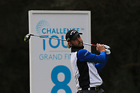Erik Tage Johansen (NOR) on the 8th tee during Round 2 of the Challenge Tour Grand Final 2019 at Club de Golf Alcanada, Port d'Alcúdia, Mallorca, Spain on Friday 8th November 2019.<br /> Picture:  Thos Caffrey / Golffile<br /> <br /> All photo usage must carry mandatory copyright credit (© Golffile | Thos Caffrey)