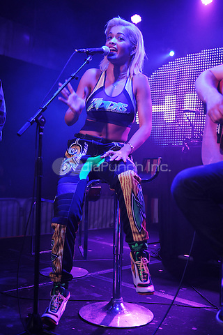MIAMI, FL - AUGUST 20:  Rita Ora performs at Grand Central during the 97.3 Hits concert on August 20, 2014 in Miami Florida. Credit: mpi04/MediaPunch