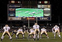 Notre Dame Fighting Irish vs Pittsburgh Panthers 11-14-09