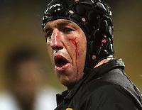 Taranaki captain Tony Penn. Air New Zealand Cup rugby match - Taranaki v Auckland at Yarrows Stadium, New Plymouth, New Zealand. Friday 9 October 2009. Photo: Dave Lintott / lintottphoto.co.nz