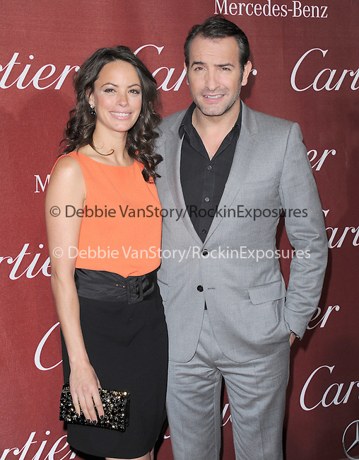 Berenice Bejo and  Jean Dujardin attends the 2012 Palm Springs International Film Festival Awards Gala held at The Palm Springs Convention Center in Palm Springs, California on January 07,2012                                                                               © 2012 Hollywood Press Agency