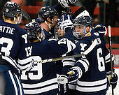 - The Yale University Bulldogs defeated the Harvard University Crimson 5-1 on Saturday, November 3, 2012, at Bright Hockey Center in Boston, Massachusetts.