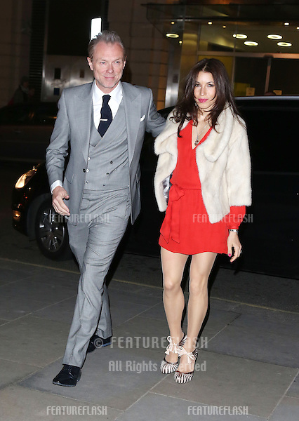 Gary Kemp and wife Lauren Barber at the Rodial Beautiful Awards 2013 held at St Martins Lane Hotel, London. 19/03/2013 Picture by: Henry Harris / Featureflash
