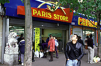 Negozio cinese a Parigi  chinese shop in Paris supermarché chinois à Paris