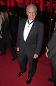 "Former astronaut Edwin E. ""Buzz"" Aldrin, Jr. arrives for a party following the annual White House Correspondents Association Dinner in Washington, D.C. on April 28, 2001.<br /> Credit: Ron Sachs / CNP"