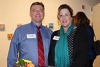 NWA Democrat-Gazette/CARIN SCHOPPMEYER John and Joan Threet help support the Arts Center of the Ozarks.