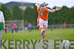 Deirdre Guiney in action at the Scor na nOg fun day in Brosna last Sunday Deirdre Guiney.