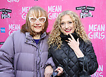 "Carol Kane with her mom attending the Broadway Opening Night Performance of  ""Mean Girls"" at the August Wilson Theatre Theatre on April 8, 2018 in New York City."