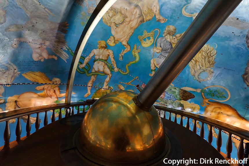 Globus von Schloss Gottorf, Schleswig, Schleswig-Holstein, Deutschland