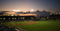 Dell Diamond Sunset 4771.jpg.  PCL baseball featuring the Memphis Redbirds at Round Rock Express at Dell Diamond on August 25th 2009 in Round Rock, Texas. Photo by Andrew Woolley.