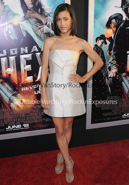 Julia Jones at the Warner Bros. Pictures Special Screening of Jonah Hex in Hollywood, California on June 17,2010                                                                               © 2010 Debbie VanStory / Hollywood Press Agency