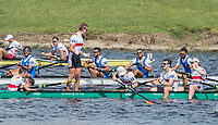 Sarasota. Florida USA. Men's eights final, USA M8+. ITA M8+ and Gold Medalist GER M8+. Sunday Final's Day at the  2017 World Rowing Championships, Nathan Benderson Park<br /> <br /> Sunday  01.10.17   <br /> <br /> [Mandatory Credit. Peter SPURRIER/Intersport Images].<br /> <br /> <br /> NIKON CORPORATION -  NIKON D4S  lens  VR 500mm f/4G IF-ED mm. 320 ISO 1/1600/sec. f 6.3