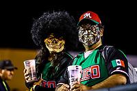 Acci&oacute;n, durante el  segundo d&iacute;a de actividades de la Serie del Caribe con el partido de beisbol  Tomateros de Culiacan de Mexico  contra los Alazanes de Gamma de Cuba en estadio Panamericano en Guadalajara, M&eacute;xico,  s&aacute;bado 3 feb 2018. <br /> (Foto  / Luis Gutierrez)