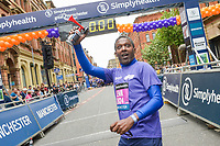University of Manchester Chancellor Lemn Sissay pictured at the Great Manchester Run 2019.