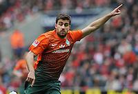 FUSSBALL   1. BUNDESLIGA   SAISON 2011/2012   29. SPIELTAG 1. FC Koeln - SV Werder Bremen                           07.04.2012 Sokratis Papastathopoulos (SV Werder Bremen)
