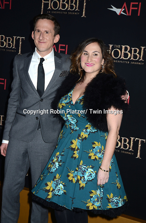 """Adam Brown and date attends the US Premiere of """"The Hobbit"""" on December 6, 2012 at the Ziegfeld Theatre in New York City."""