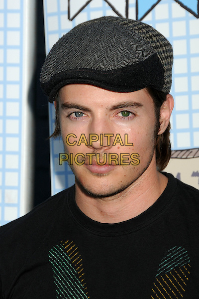 JOSH HENDERSON .The Ultimate Slam Paddle Jam 2010 Celebrity Ping Pong Tournament held at the Music Box Theatre,  Hollywood, California, USA, 26th September 2010..portrait headshot cap hat black .CAP/ADM/BP.©Byron Purvis/AdMedia/Capital Pictures.
