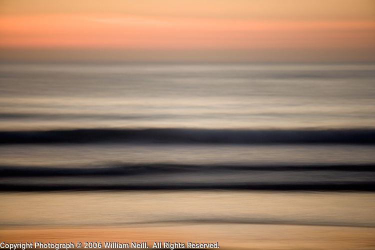 Sunset Waves, La Jolla, California  2006