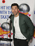 """Ace Young during the Special Musical Presentation for """"Hit Her WithThe Skates"""" at the Bowlmor Times Square on October 16, 2018 in New York City."""