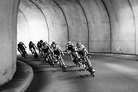 Nils Politt (DEU/Katusha-Alpecin)<br /> <br /> Stage 8: Cluses (FRA) to Champéry (SUI)(113km)<br /> 71st Critérium du Dauphiné 2019 (2.UWT)<br /> <br /> ©kramon