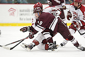 Austin Smith (Colgate - 9), (Valek, Greiner) - The Harvard University Crimson defeated the visiting Colgate University Raiders 4-2 on Saturday, November 12, 2011, at Bright Hockey Center in Cambridge, Massachusetts.