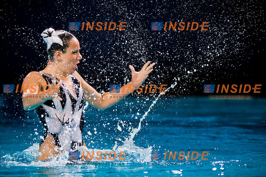 Kyra Feissner (GER)..European Synchronised Swimming Championships Eindhoven 2012..Solo Free Routine - Finals ..Eindhoven (Netherlands), 26/05/2012, Pieter Van Den Hoogenband Swimming Stadium..ph. Giorgio Perottino / Deepbluemedia