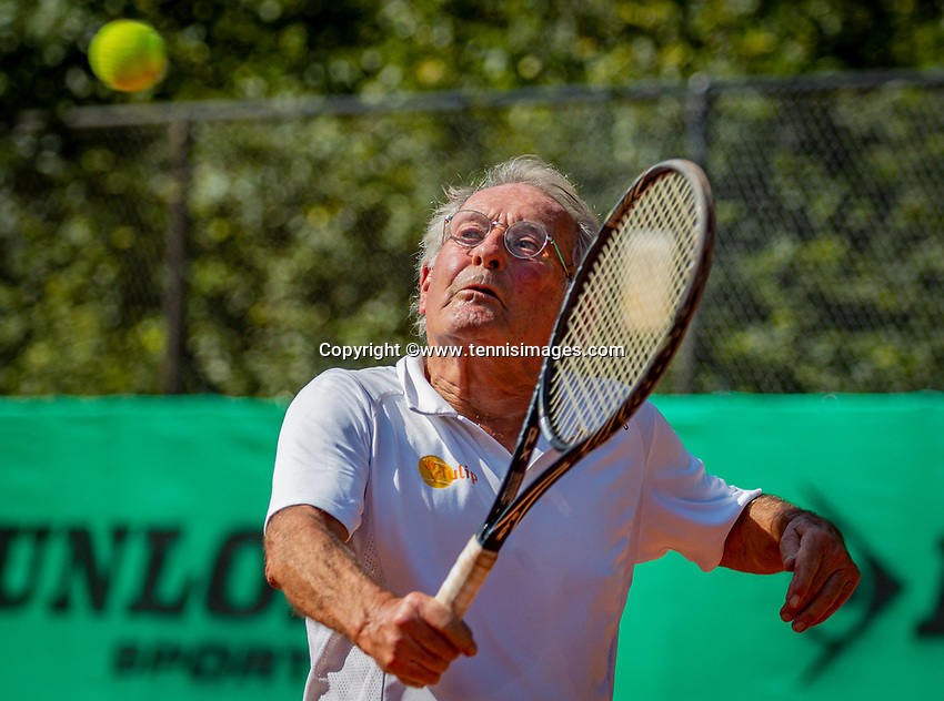 Hilversum, The Netherlands,  August 23, 2019,  Tulip Tennis Center, NSK, Niels Menko (NED)<br /> Photo: Tennisimages/Henk Koster