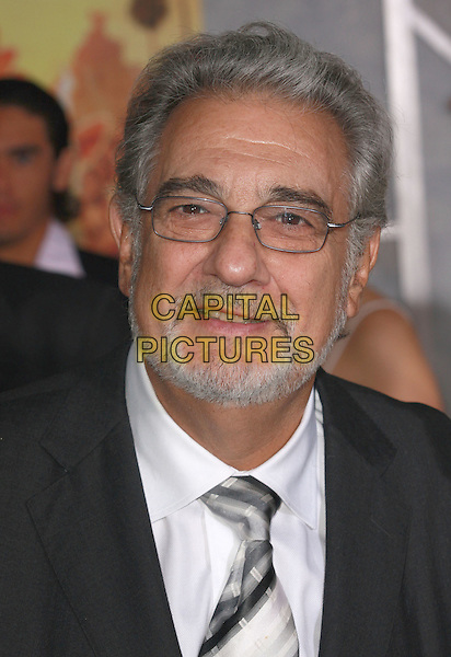 "PLACIDO DOMINGO .""Beverly Hills Chihuahua"" Los Angeles Premiere held at the El Capitan Theatre, Hollywood, California, USA, .18 September 2008..portrait headshot beard glasses tie .CAP/ADM/`CH.©Charles Harris/Admedia/Capital PIctures"